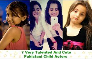 Cute Pakistani Child Actors