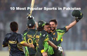 Most Popular Sports in Pakistan