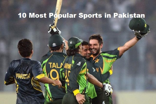 Most Popular Sports in Pakistan