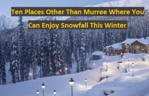 Best Places to enjoy winter in Pakistan