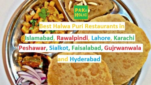 Halwa Puri Restaurants in Pakistan