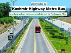 Kashmir Highway Islamabad Metro Bus