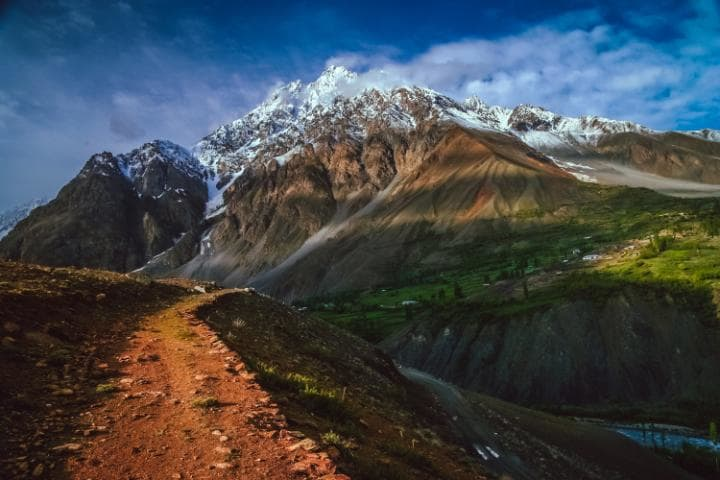 A Track Somwhere in Karakorum Mountains