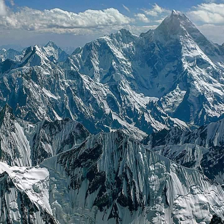 Amazing View of K1 - Masherbrum
