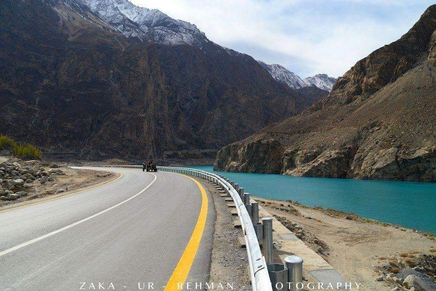 Karakarom Highway and Attabad Lake - Hunza