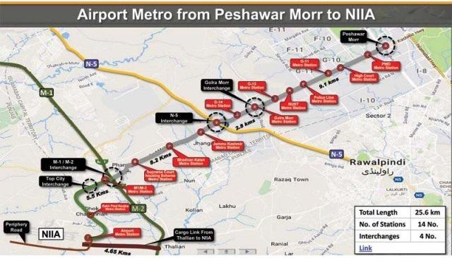 Kashmir Highway Metro Bus