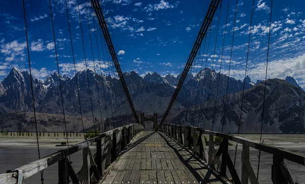Khaplu Sailing Bridge Over Shayok River1