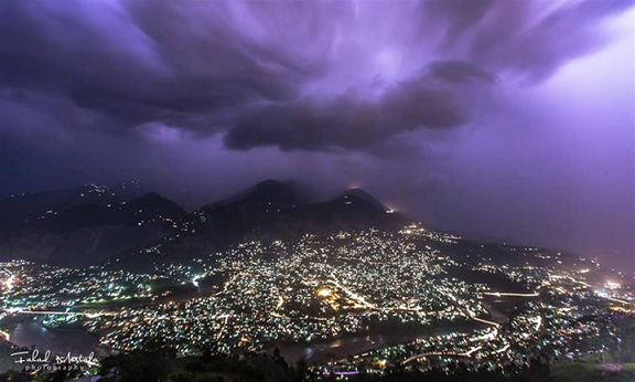 Night View of Muzaffarabad City - Muzaffarabad1