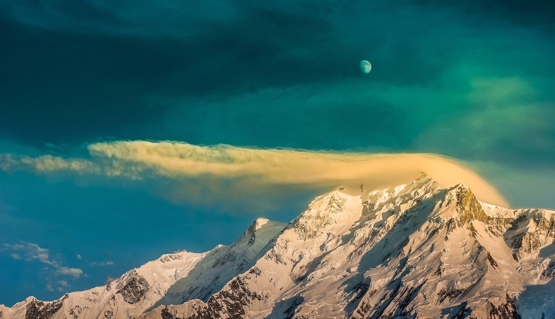 Rakaposhi Peak - Photo Credits - Rizwan Karim