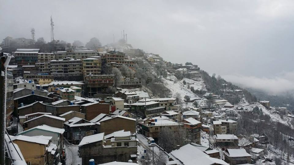View of Murree From A Hotel