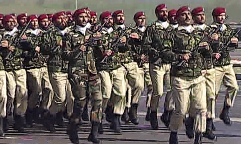 12 - SSG of Pakistan Marching at the Parade