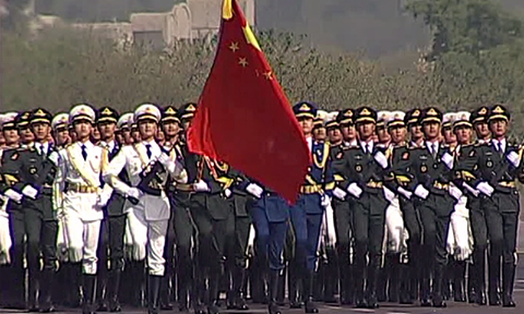 18 - Chinese Military Troops at the Pakistan Day Parade for the First Time in History - 2