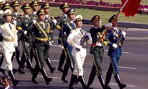 19 - Chinese Military Troops at the Pakistan Day Parade for the First Time in History