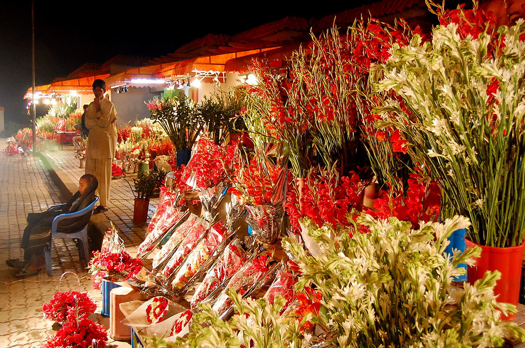 23 - Flower Market in F 7 Markaz - Islamabad
