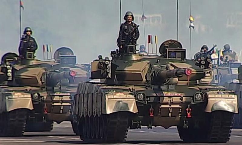 27 - Pakistani Tanks at the Parade Venue 2