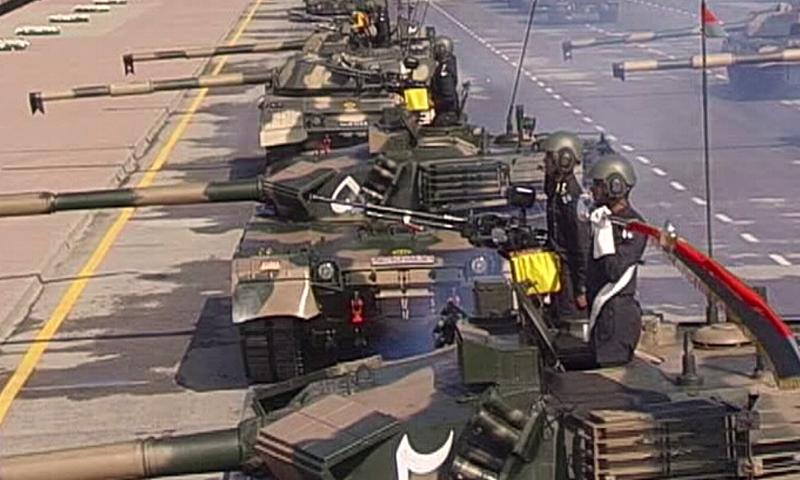 28 - Pakistani Tanks at the Parade Venue