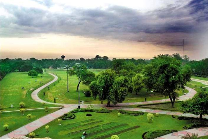 A Park in Lahore
