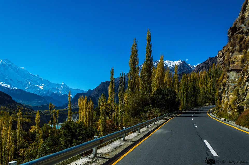Karakoram Highway Near Karimabad