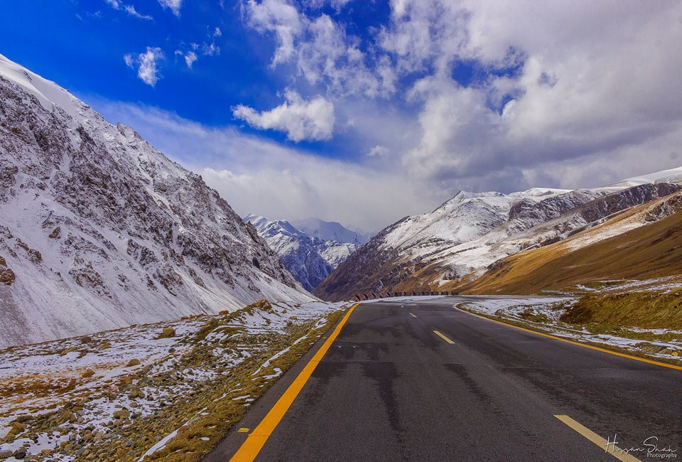 Karakoram Highway Snow 2
