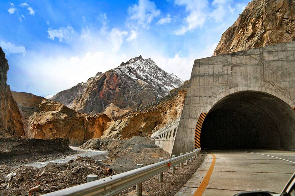 Karakoram Highway Tunnel