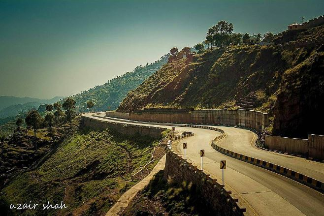 11 - Murree Expressway is one of the most scenic roads in Pakistan