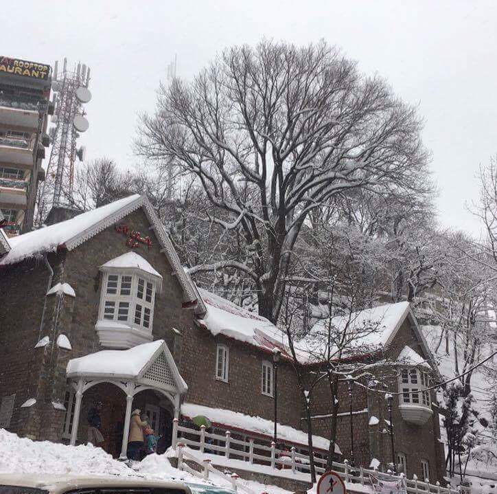 16 - View of Murree GPO in winter