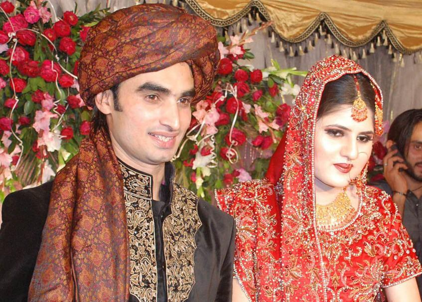 Imran Nazir with his wife