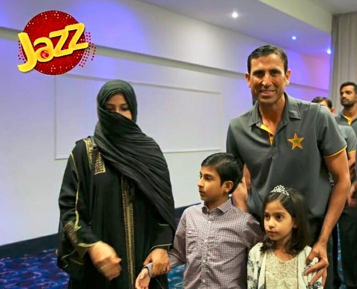 Younus Khan with family