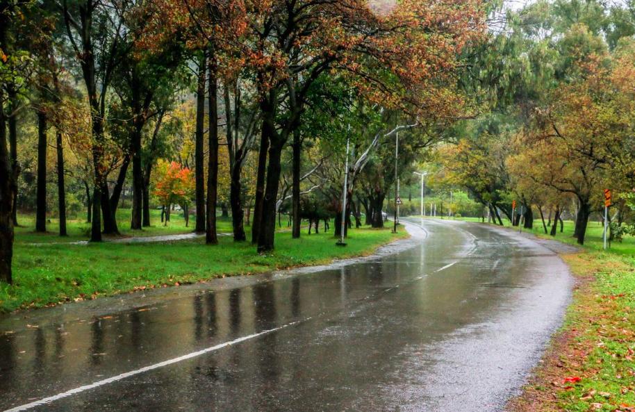 Rain in Islamabad