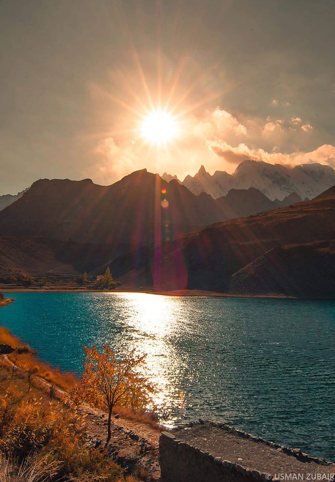 17 - Beautiful Sunrise at Bortih Lake Gojal, Hunza - Photo Credits - Usman Zubair
