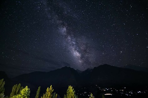 19 - Milkyway Galaxy can be seen at night in Hunza - Photo Credits - Mohammad Ali Paracha