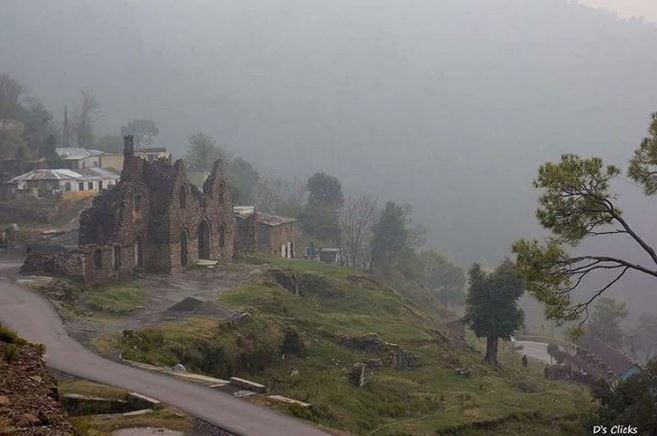 21 - View of Murree Brewery on a Foggy Evening - Photo Credits - D's Clicks