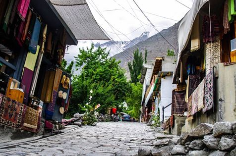 22 - Beautiful Streets of Karimabad Hunza - Photo Credits - HunzOgrapher