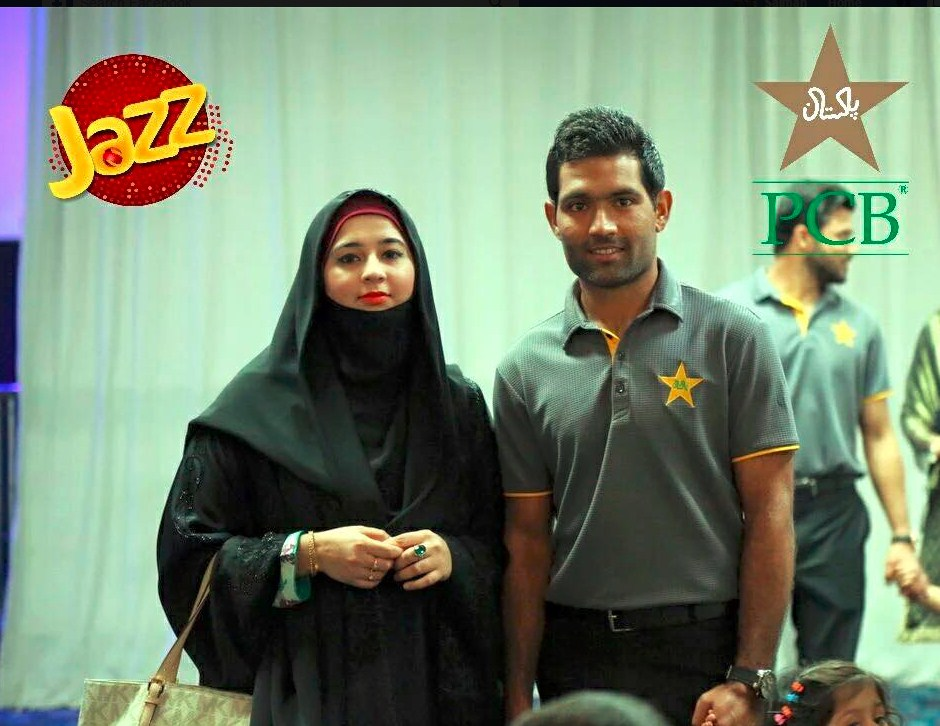 Asad Shafiq with family