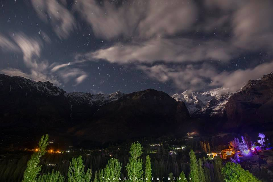 27 - Another Spectacular Night View of Hunza