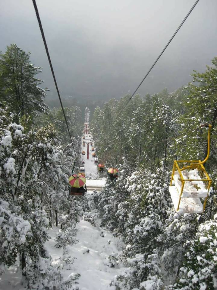 3 - When you visit Murree Don't Forget to visit Pindi Point Chairlift