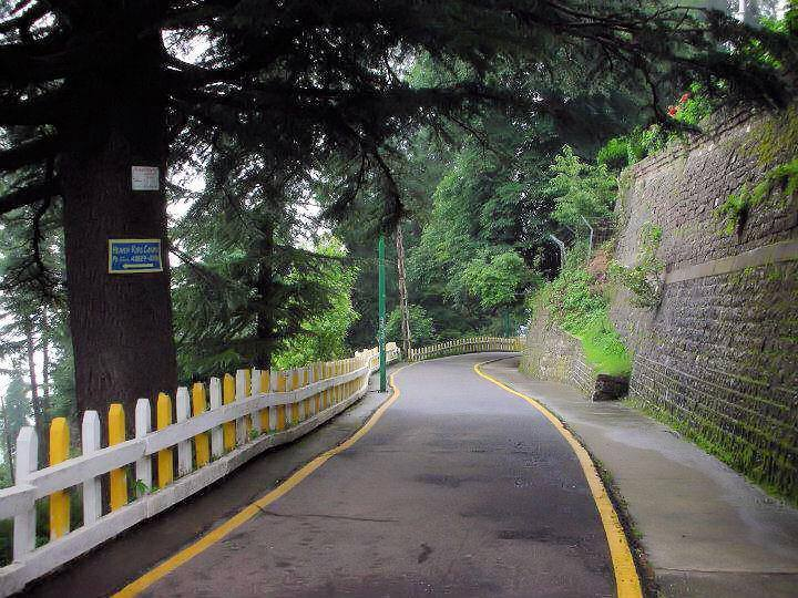34 - This beautiful road will take you to Kashmir Point in Murree
