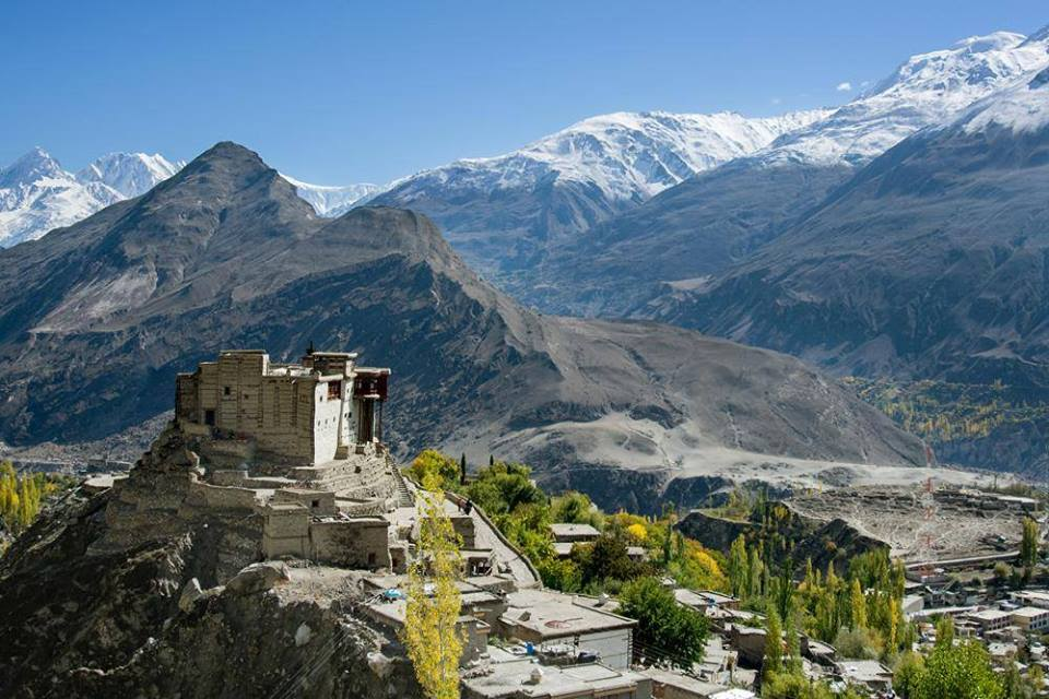 36 - Aerial View of Baltit Fort in Hunza