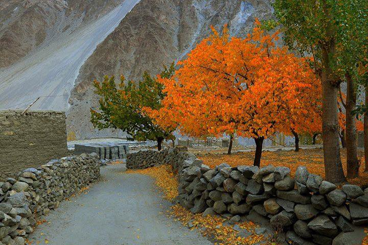 37 - Streets of Gulmit Hunza - Photo Credits - Basharat Ali