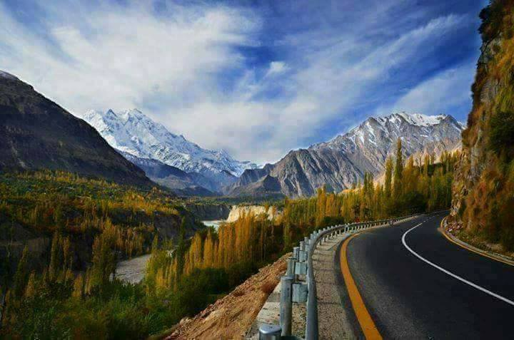 39 - A Wonderful View of Hunza Frm The Karakoram Highway