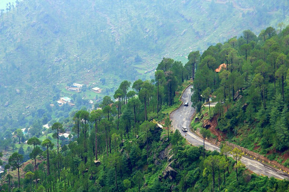 40 - This is what the road to Murree looks like
