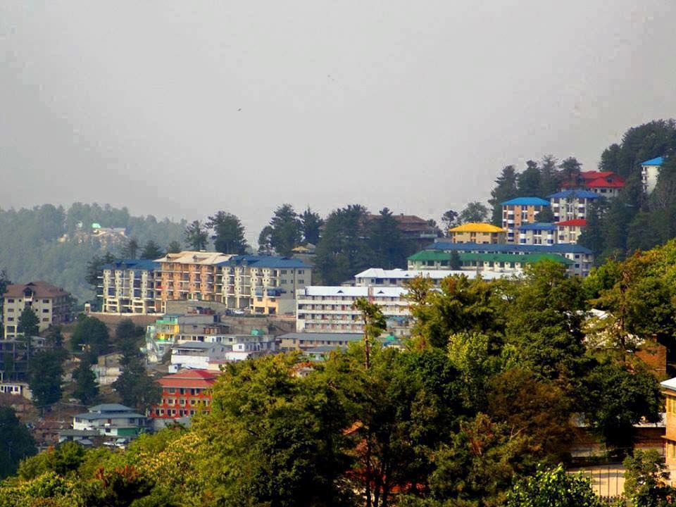 44 - View of Hotels in Murree