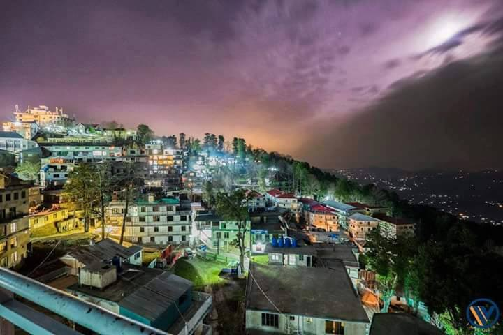 47 - View of Murree at Night