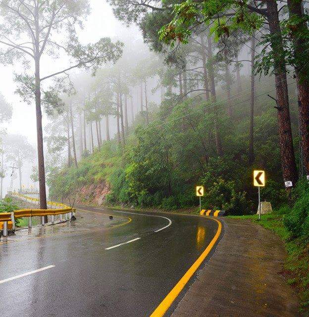 48 - Rain offen enhances the beauty of Murree
