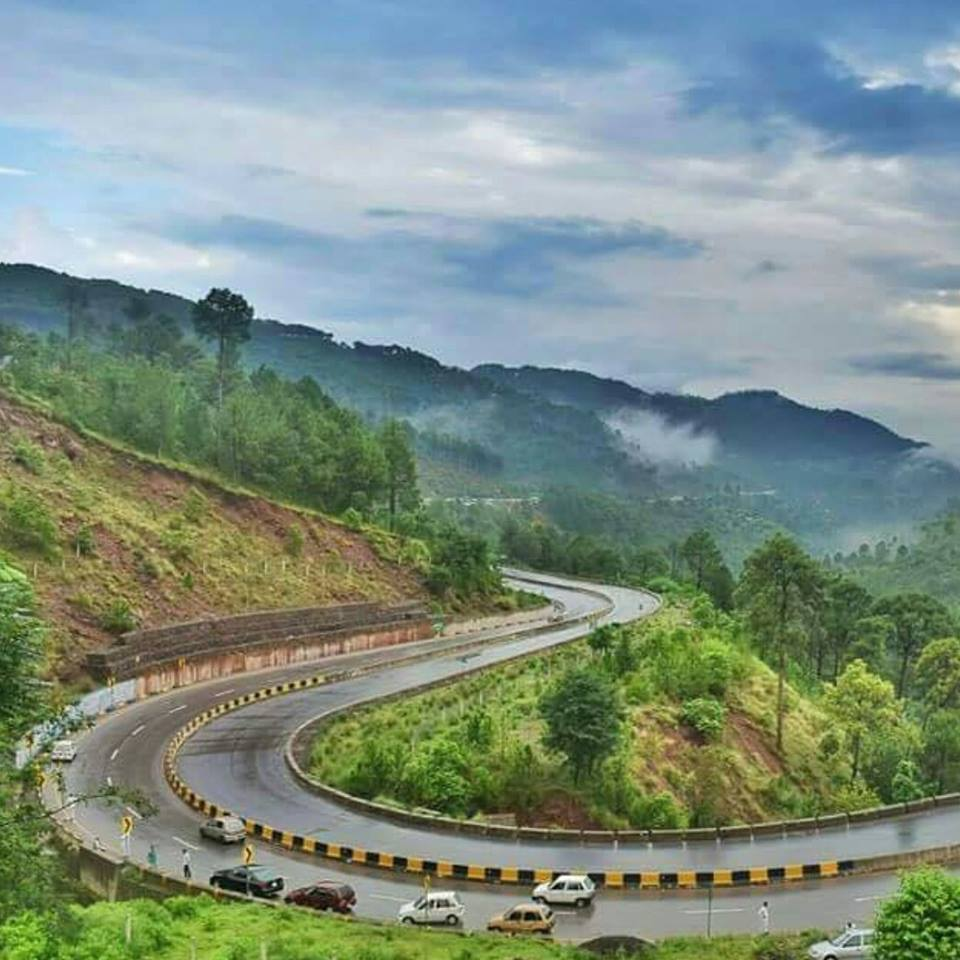 49 - You wille experience some of the most beautiful sceneries with the twists and turns of the Murree Expressway