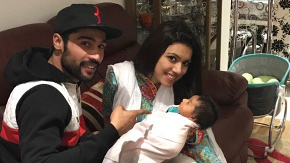 Mohammad Aamir with family