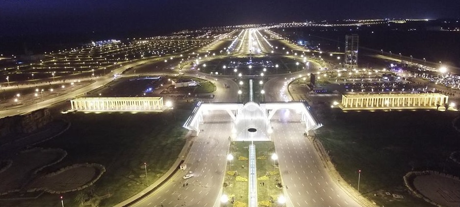 7 - Night VIew of The Entrance to Bahria Town Karachi 1