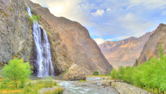 Waterfalls in Pakistan