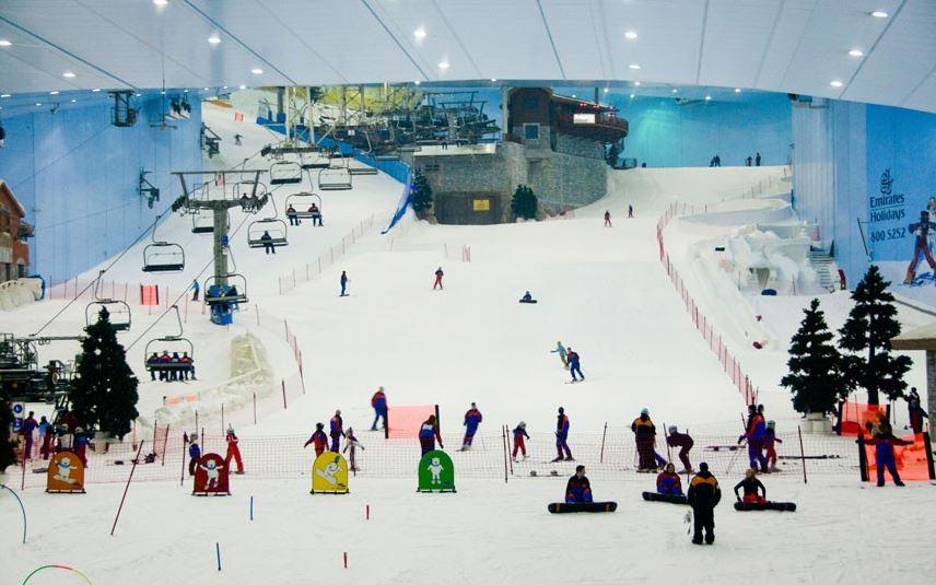 Dubai Mall Ski