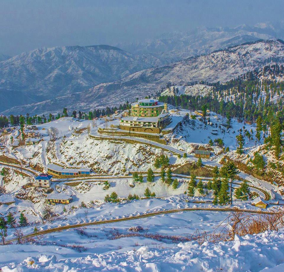 Malam Jabba in winters - Swat Valley
